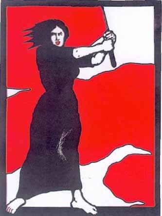mujer comunista